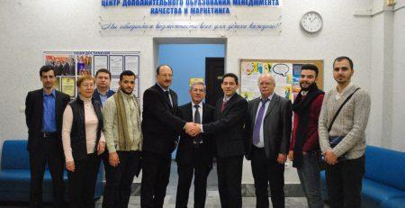 КФУ посетила совместная делегация Арабского университета науки и технологии и Университета Аль-Баас
