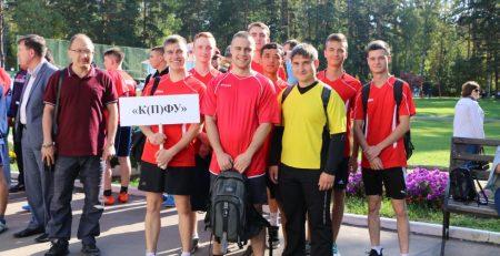 Студенты ИГиНГТ приняли участие в летней спартакиаде ООО ТНГ-Групп