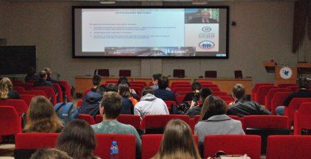 Студенты ИГиНГТ стали участниками Телемоста