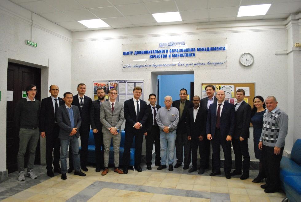 В КФУ прошёл круглый стол с участием кубинской государственной нефтяной компании